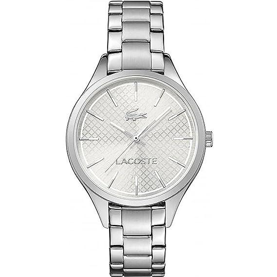 Lacoste – 2000912 – Cyprus – Reloj Mujer – Cuarzo Analógico – Reloj color blanco –