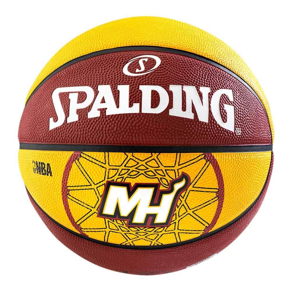 Spalding Miami Heat - Pelota de Baloncesto, Talla 7: Amazon.es ...