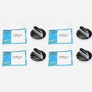 Surface Burner Knob 4 Pack for Maytag, Magic Chef AP4100044, PS2088607, 74011287