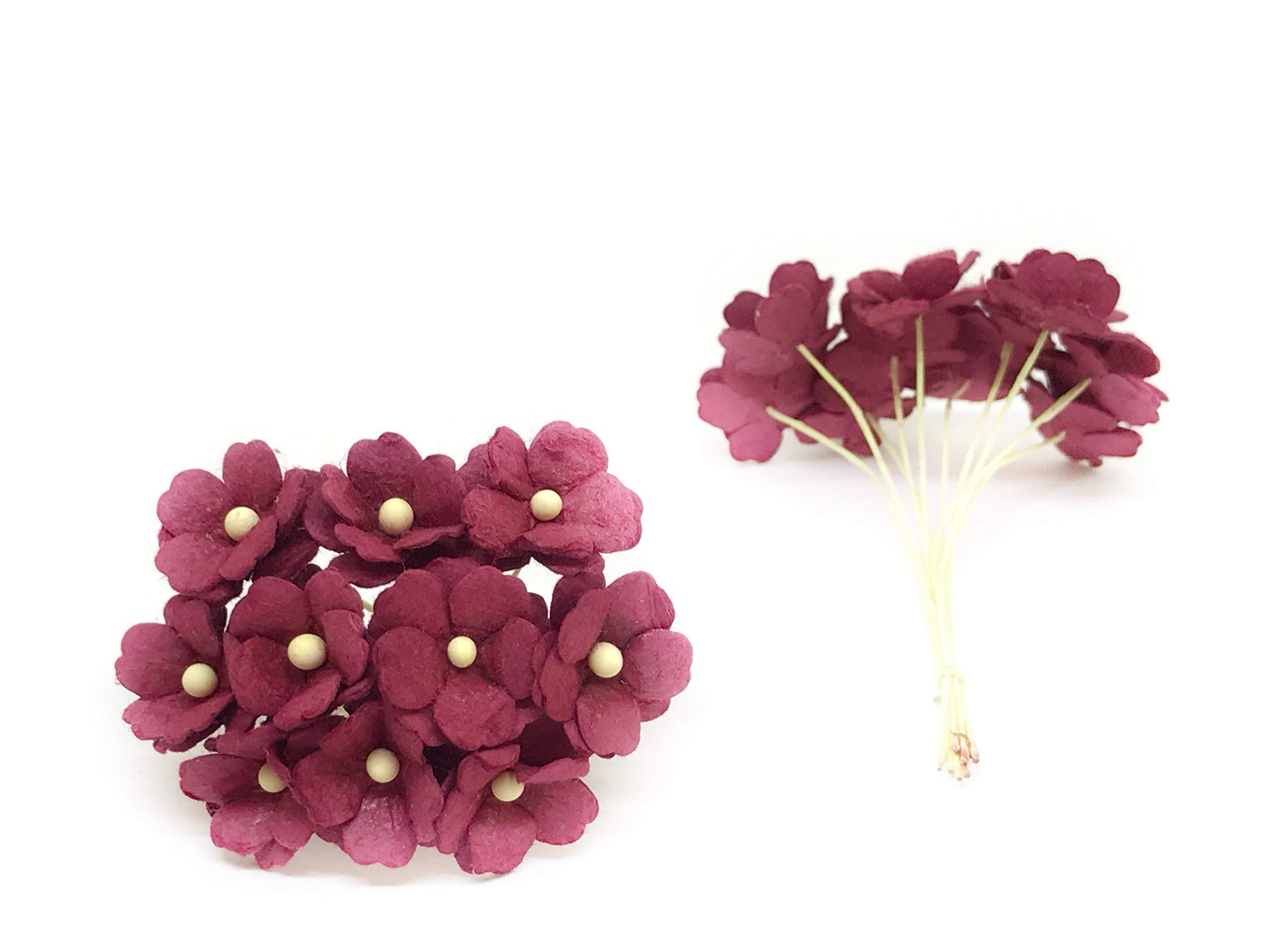 15cm-Maroon-Mulberry-Paper-Flowers-Maroon-Paper-Hydrangea-Wedding-Flowers-Wedding-Decor-Wedding-Table-Flowers-Maroon-Wedding-Artificial-Flowers-50-Pieces