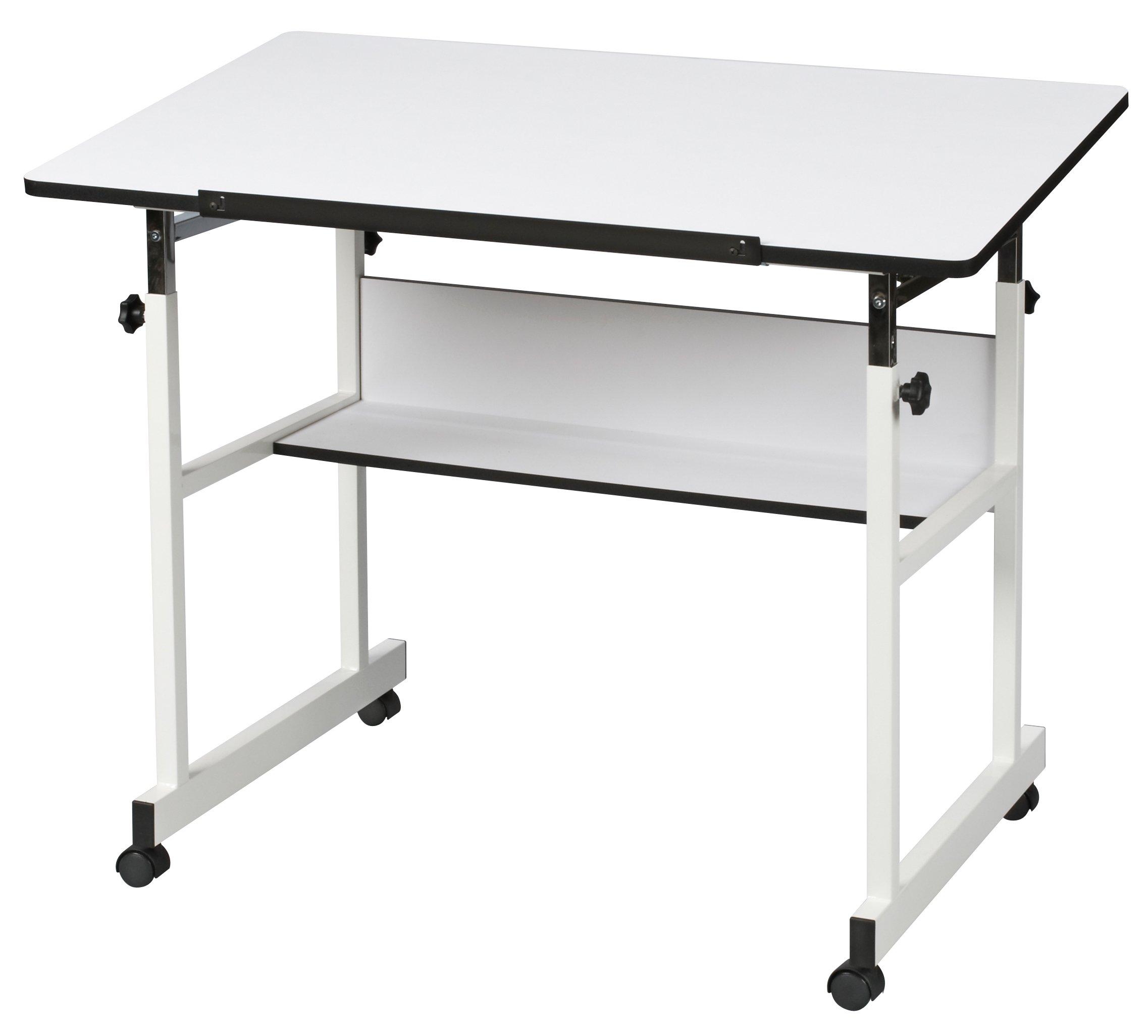 Alvin MM40-4-XB Minimaster II Drafting Table, White