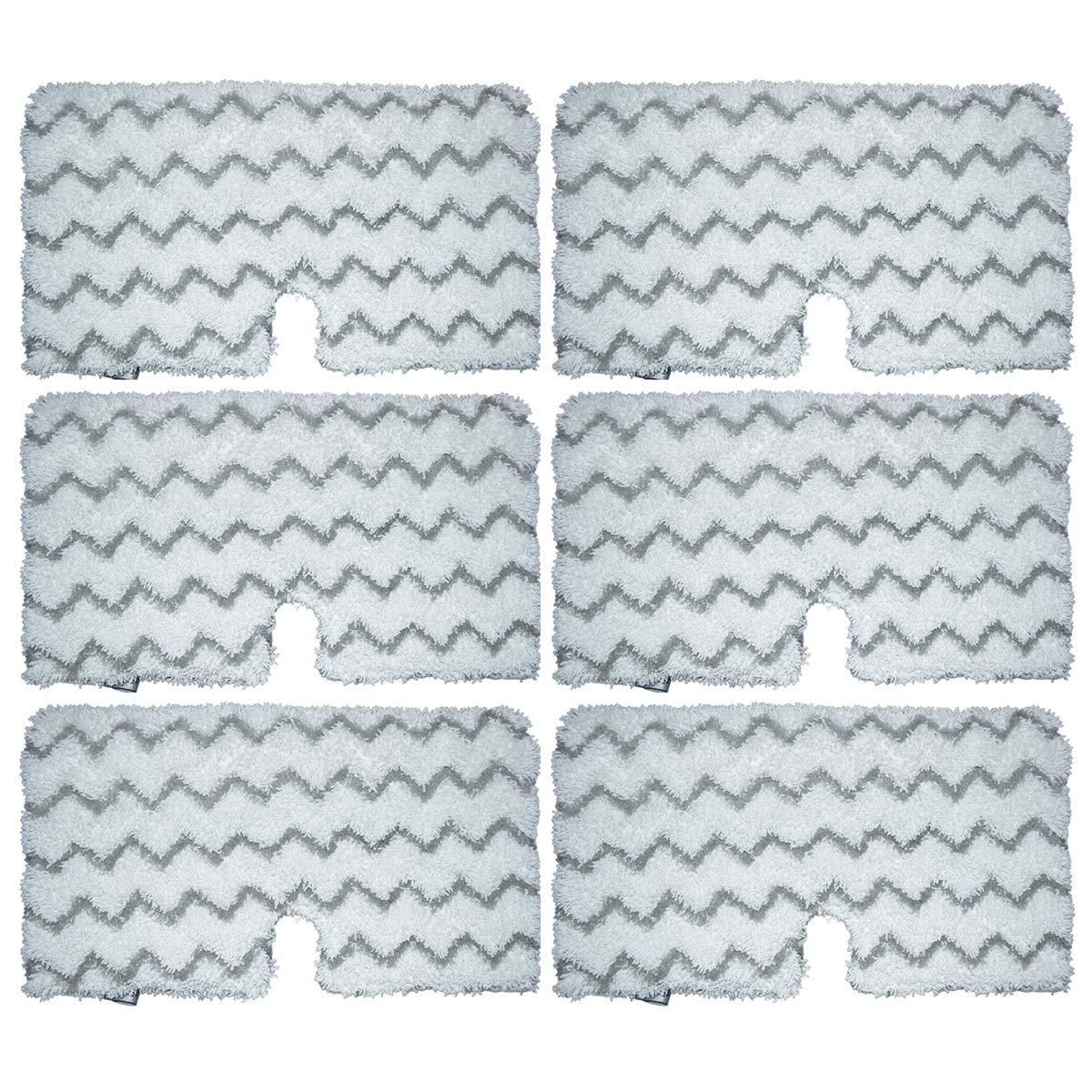 スチームモップパッド Shark S3501 S3601 S3601D S3801 S3901 S3901D マイクロファイバークリーニングパッド 再利用可能洗濯可能真空パッド 布パッド 掃除機アタッチメント交換用 5個 B07FVDP226