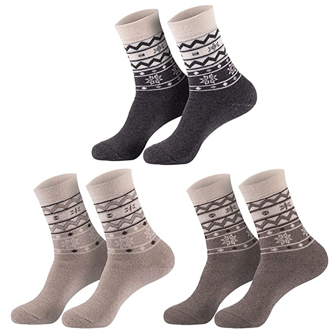 Star Socks Germany - Calcetines térmicos para mujer (6 pares)