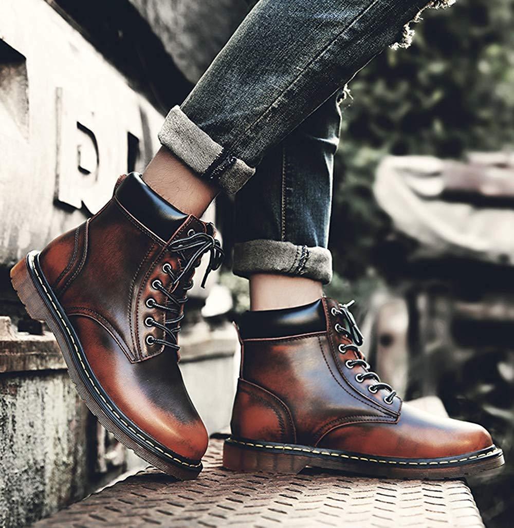 Oudan Herren High-Top Martin Stiefeletten Retro-Mode Retro-Mode Retro-Mode Warme Schuhe (Farbe   1, Größe   43EU) cbd606