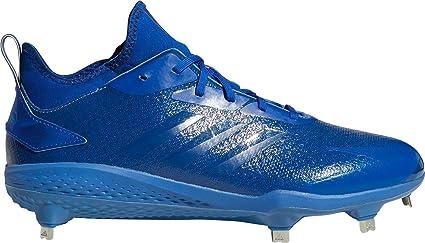 adidas Men s Adizero Afterburner V Dipped Metal Baseball Cleats (Blue 8.5  D(M) 234460a26