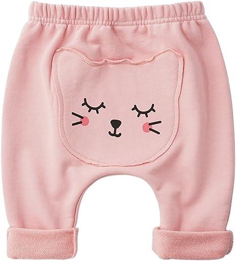 Pantalones Bebé Pantalones De Chándal Unisexo Pantalones Deportivos Algodón Harem Joggers 3-6 Meses: Amazon.es: Bebé
