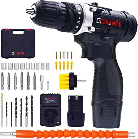 Goxawee Cordless Drill