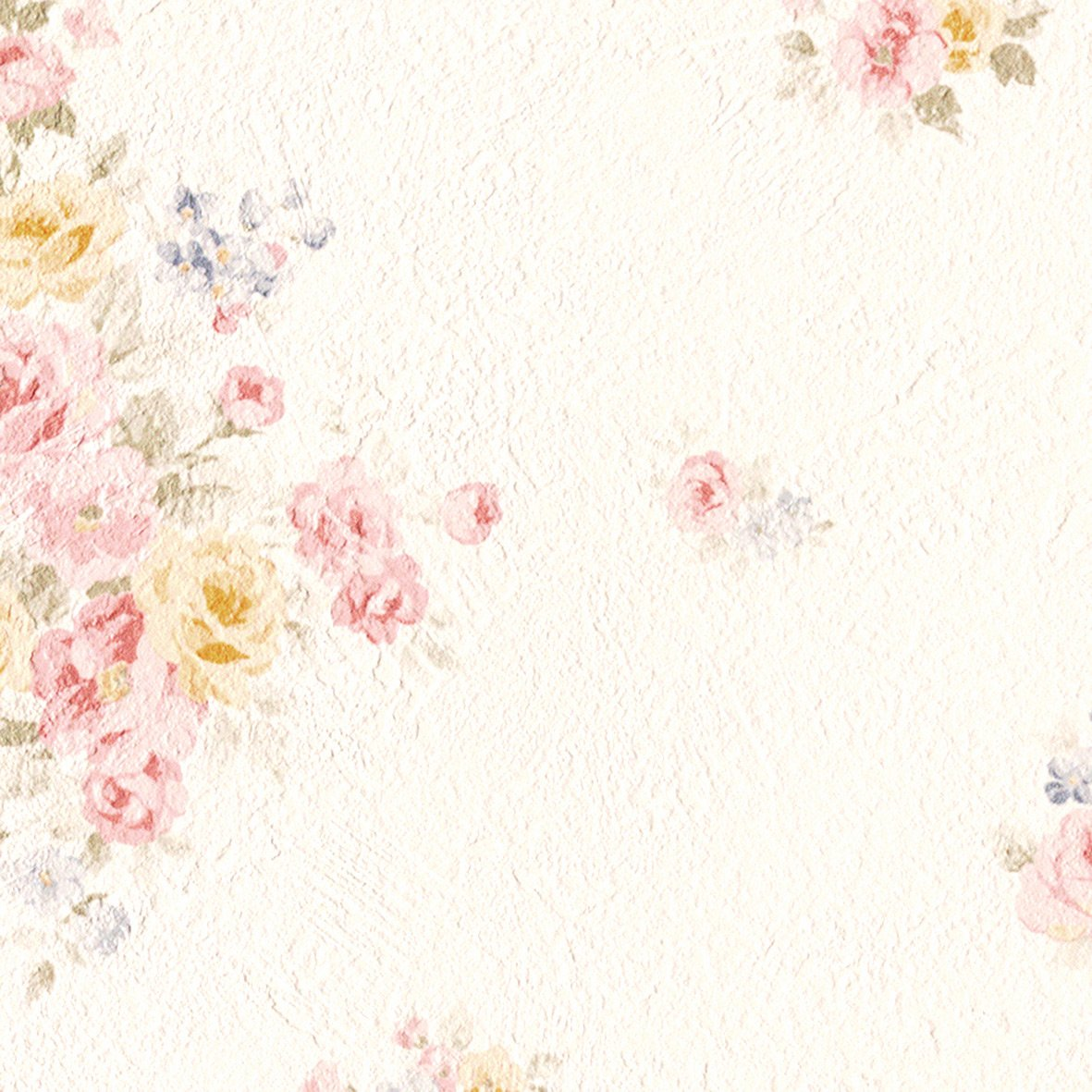 リリカラ 壁紙25m フェミニン 花柄 ベージュ 寝室プライベートルーム LV-6344 B01IHTWX64 25m|ベージュ