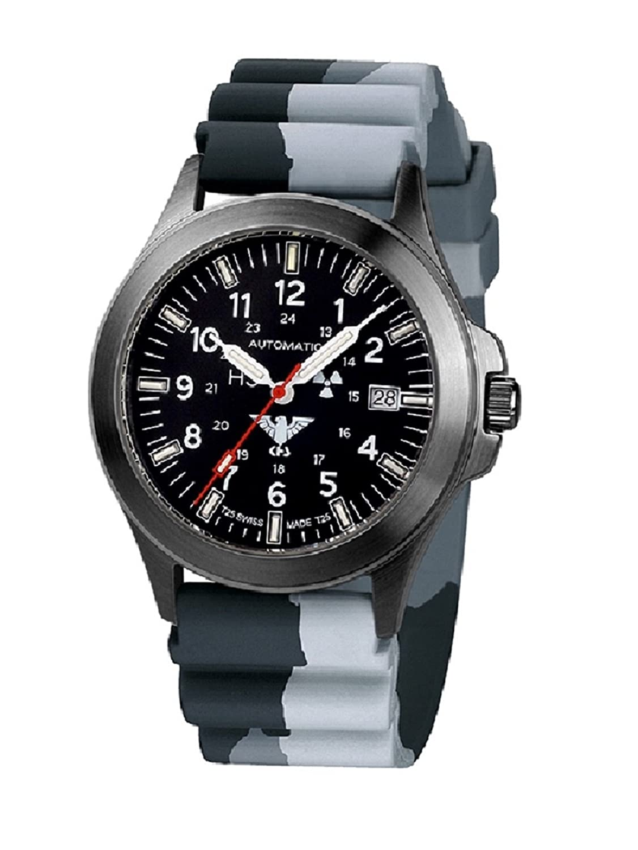 Watches Khs Automatic Edelstahl Platoon Tactical Khs dc1 Black bpa b6fYgv7y