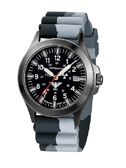 KHS Tactical reloj hombre Black Platoon automática KHS.BPA.DC1