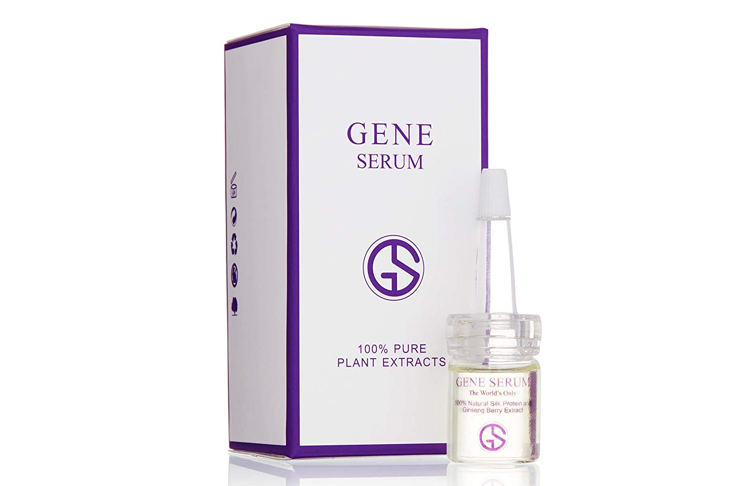 GeneSerum Facial Moisturizer and Age-Defying Formula to Help Restore your Skin - Used with 100 Percent Natural Silk Protein and Ginseng Berries Extract