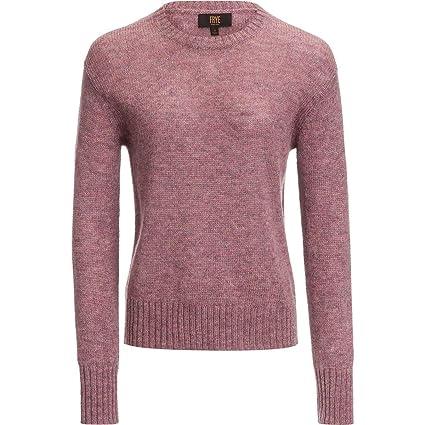 Amazon.com  FRYE Morgan Long-Sleeve Crew-Neck Sweater - Women s ... 052b124a4