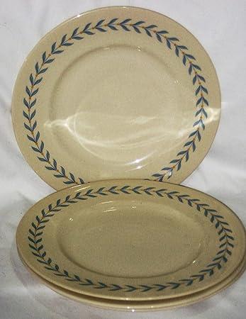 Syracuse China Old Ivory Sherwood 10 Inch Dinner Plate Set of 4 & Amazon.com | Syracuse China Old Ivory Sherwood 10 Inch Dinner Plate ...