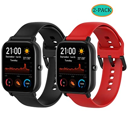 Amazon.com: Fit for Amazfit GTS Watch Bands, 20mm Quick ...