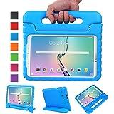 """NEWSTYLE Samsung Galaxy Tab E 9.6 pollici EVA Cover, custodia antiurto portatile per bambini con supporto per cellulare Tablet funzione leggio per Samsung Tab E SM-T560/SM-T561 9.6 """" Blu"""