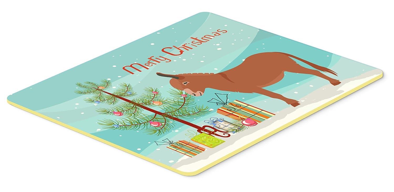 Caroline's Treasures BB9215CMT Irish Donkey Christmas Kitchen Mat 20' x 30' Multicolor