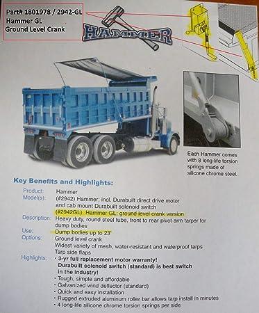 Dump Truck Trailer Hand Crank Replacement Handle