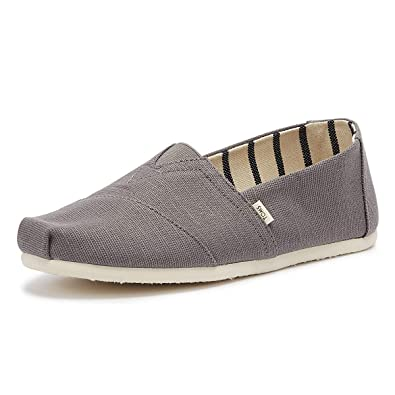 Amazon.com | TOMS Mens Venice Collection Alpargata Shade Heritage Canvas 7 D US | Flats