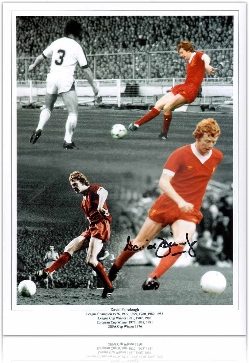 Legend Kenny Dalgish European Cup Poster Run