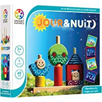 Smart Games Jour & Nuit Preescolar Niño/niña - Juegos educativos, Preescolar, Niño/niña, 3 año(s), 6 año(s), 48 Pieza(s)