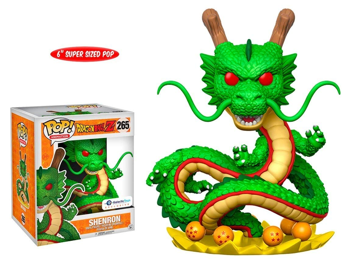 Funko – Dragon Ball Z - Colección Pop, Figura 265, Shenron