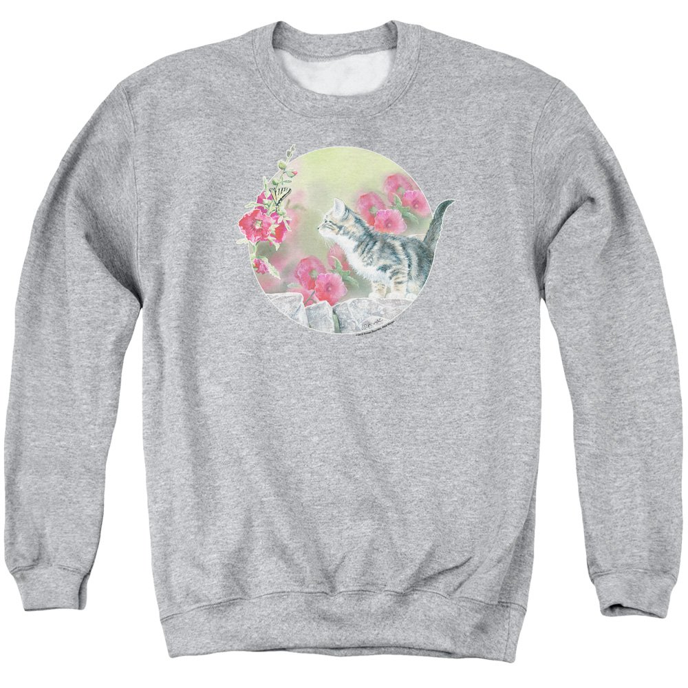 Wild Wings - - Kitten Flowers Sweater für Herren