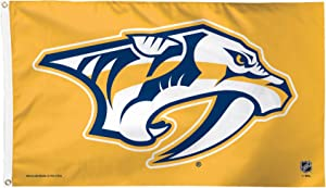 WinCraft NHL Nashville Predators Deluxe Flag, 3 x 5', Multicolor