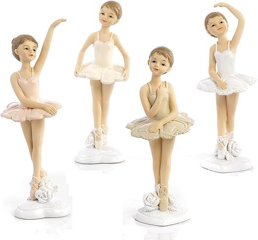 12 Pezzi Bomboniera Bambina Ballerina Resina cm.12,5 Comunione Cresima Compleanno by Mandorle bomboniere
