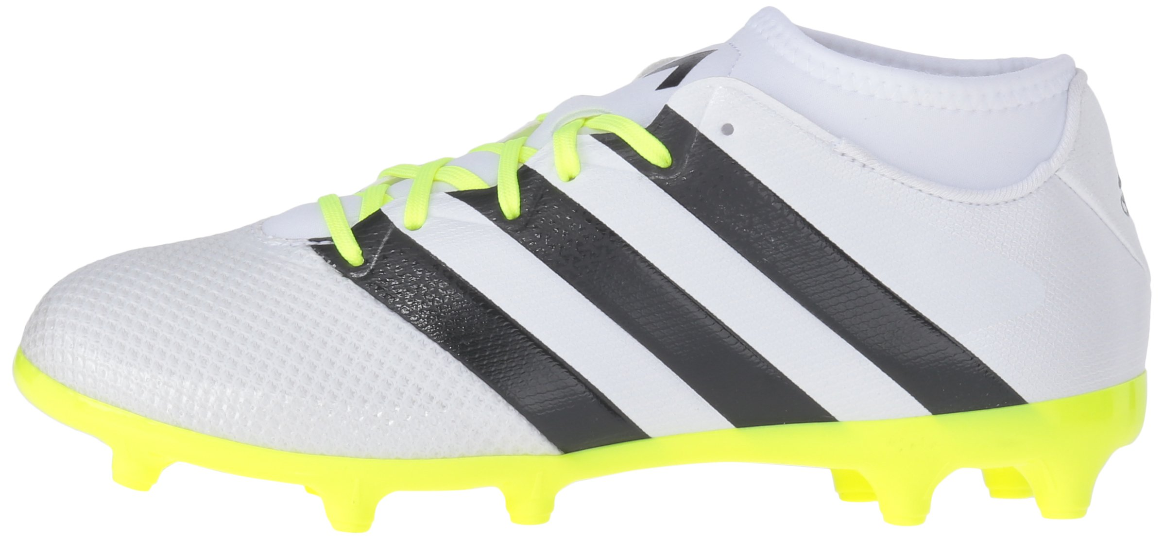 adidas Women's Ace 16.3 Primemesh FG/AG W Soccer Shoe, White/Black/Electricity, 9 M US by adidas (Image #5)