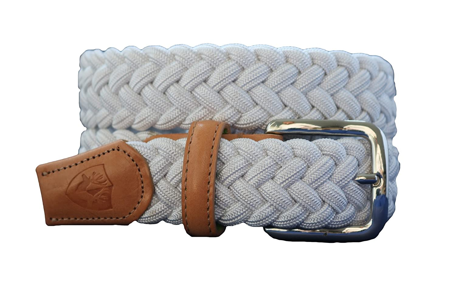 Back Nine Nautilus White Natural Belt