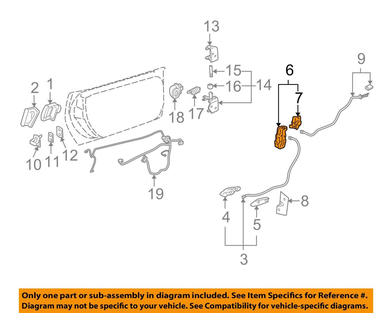 GENERAL MOTORS 88956758 LOCK ASMFRT S D Unbranded
