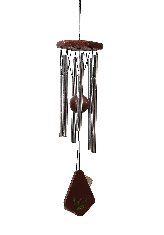 OSVINO Klangspiele Windspiele Aluminium mattiert klein Gesamtlä nge 30,5cm/35,6cm fü r Garten drauß en, Kupfer 30.5cm