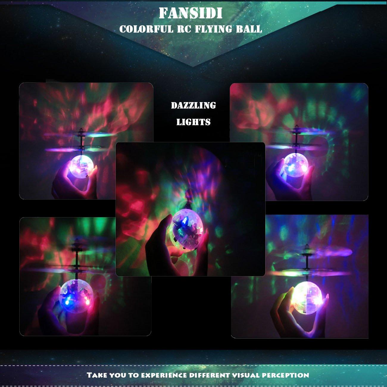 f539bda5b811b Amazon.com  FANSIDI RC Flying Ball