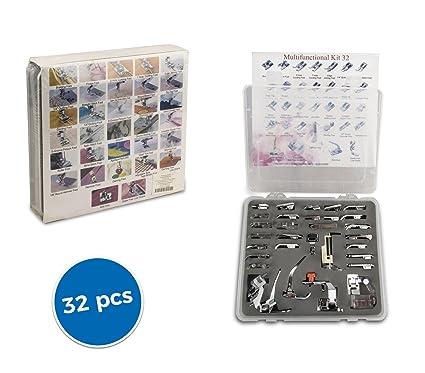 4486 Kit multifuncional de 32 piezas para maquinas de coser universales