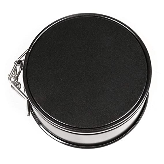 Amazon.com: Springform Pan Removable Bottom Cake Pan for Kitchen Cheesecake Pan Nonstick Carbon quick-release pan Bakeware: Kitchen & Dining