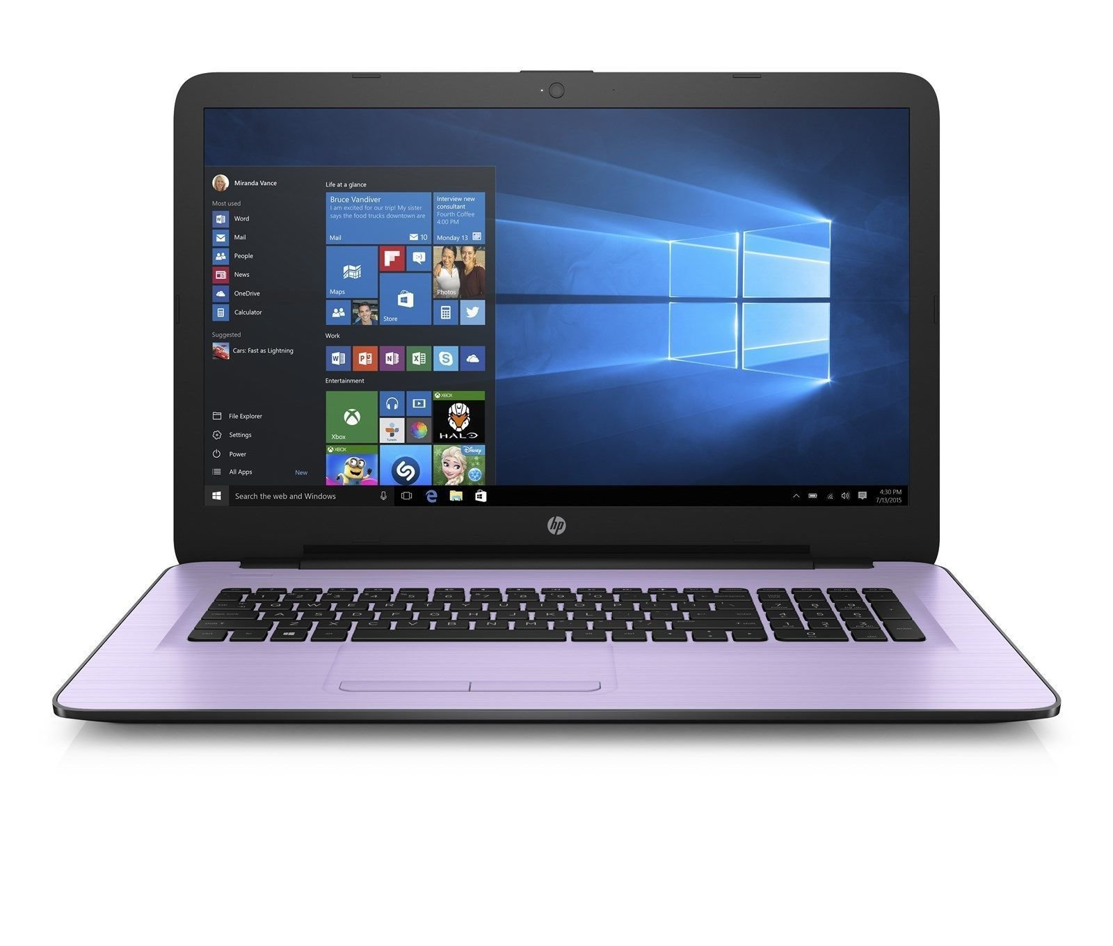 HP 15-BA006CY 15.6'' A12-9700P Quad-Core 12GB 2.5GHz 2TB Win10 Laptop Notebook PC (Certified Refurbished)