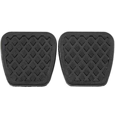 Red Hound Auto 2 Brake Clutch Pads Cover for Compatible with Honda Pedal Rubber Manual Transmission Replacement: Automotive