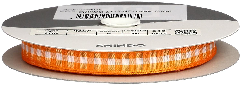 SHINDO チェックリボン10mm (30m) SIC-200 6   B00IX7R3N4