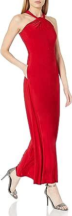 Taylor Dresses Women's Criss Cross Neck Wide Leg Jumpsuit