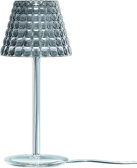 Guzzini Tiffany Lighting Lampada Da Tavolo O 13 6 Cm X H 31 2 Cm Grigio Amazon It Illuminazione