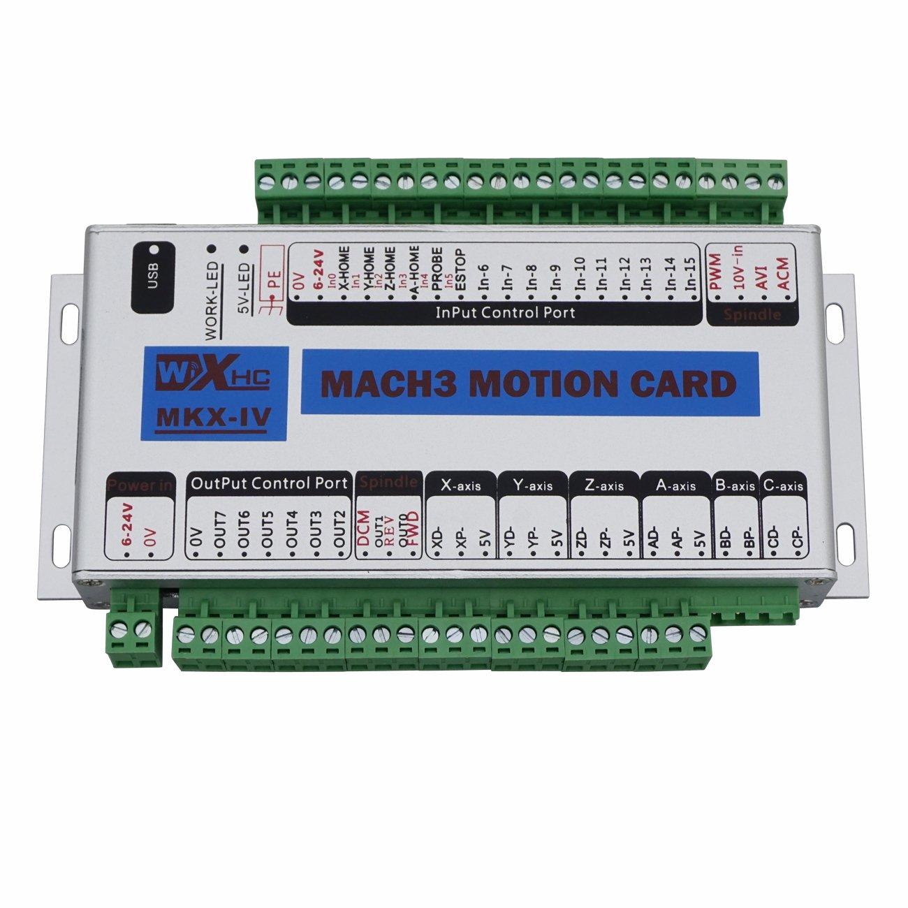 DC-HOUSE 運動制御カード MACH3カード4軸 L09020102006-1   B01LPVEERM