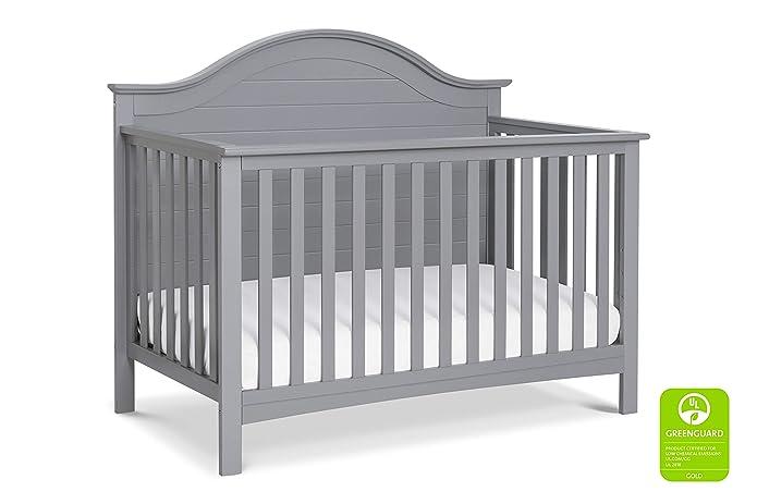 Carters By Davinci Nolan 4-In-1 Convertible Crib - Gray