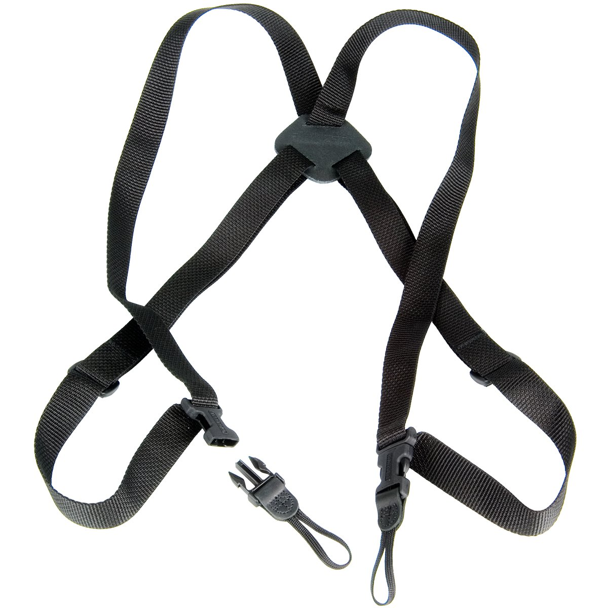 OP/TECH USA Bino/Cam Harness-Webbing, Black 5301412