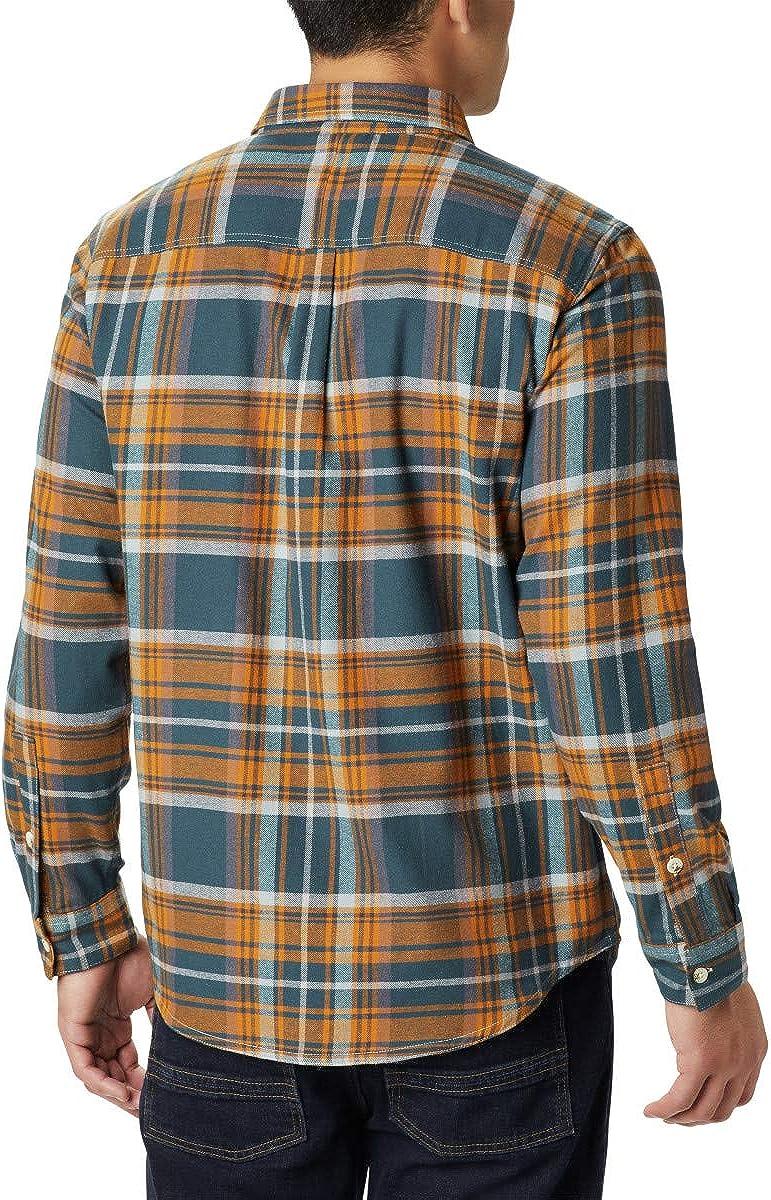 Columbia Mens Big /& Tall Boulder Ridge Long Sleeve Flannel