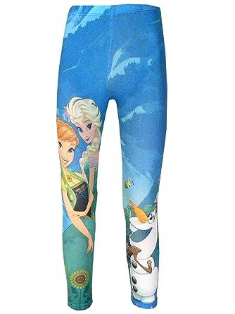 b73d18e4e78f Amazon.com  Disney Frozen Girls Legging Tights Age 3 to 9 Years ...