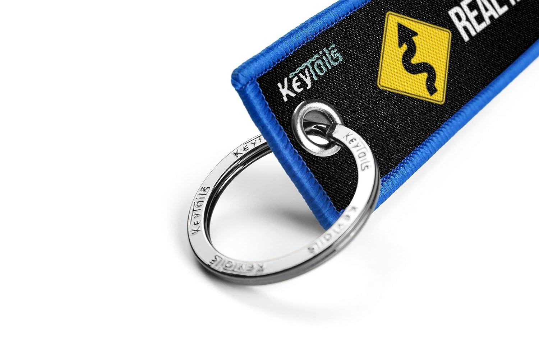 Real Men Like Curves Scooter UTV Car ATV KEYTAILS Keychains Premium Quality Key Tag for Motorcycle