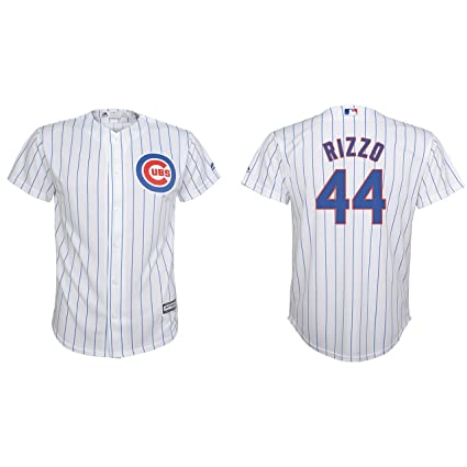 efcc90d20 Anthony Rizzo Chicago Cubs Youth Cool Base White Replica Jersey Large 14-16