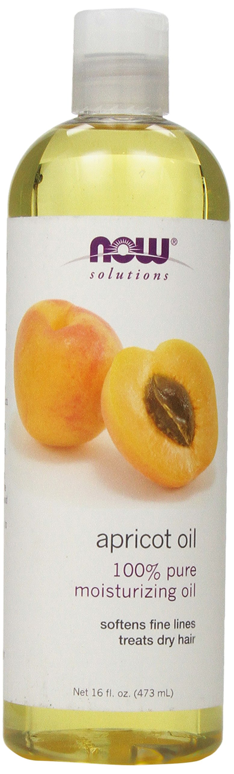 NOW Solutions Apricot Kernel Oil,16-Ounce