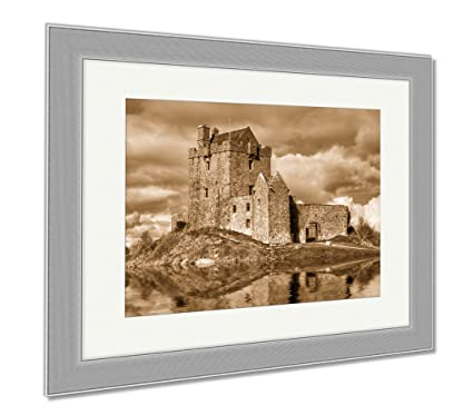 ashley framed prints dunguaire castle near kinvarra in co galway ireland wall art home decoration