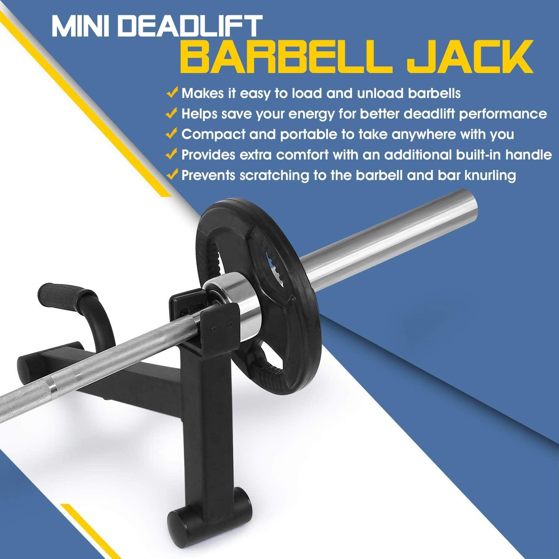 Raises Loaded Barbell Loading Barbell Jack Plates 1 Pair  Deadlift For Gym Bag